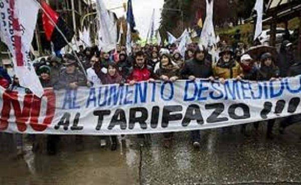 El miércoles pasará por la Comarca, la Marcha Federal que viene desde Comodoro Rivadavia