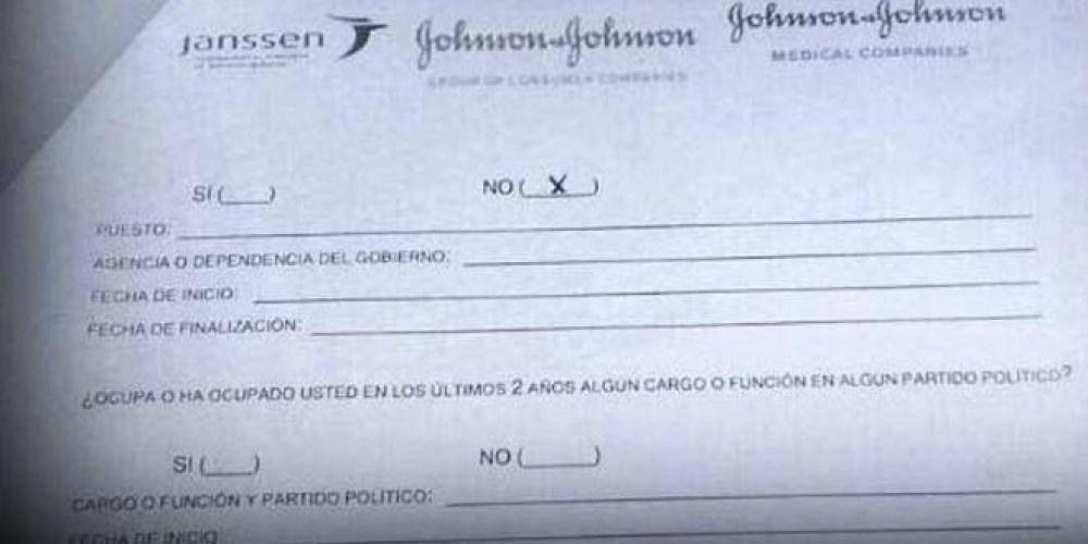 Escandaloso: una multinacional les pidió a sus empleados que revelen su filiación política