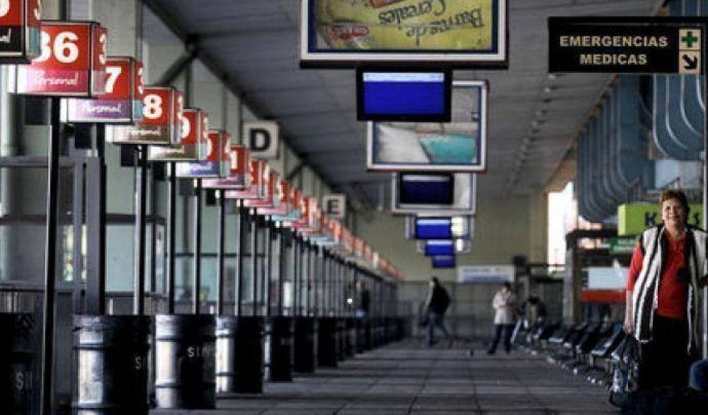 La UTA paraliza la terminal de Retiro por mayor seguridad