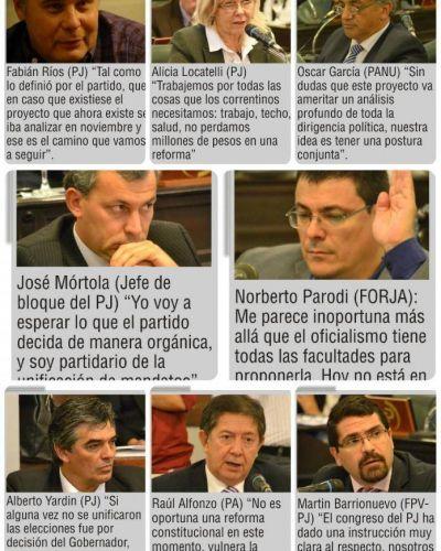 Reforma: el PJ negó que vaya a adelantar su Congreso