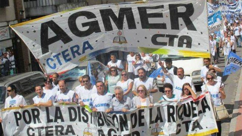 Agmer se sumar� a la Marcha Federal que el jueves pasar� por Paran�