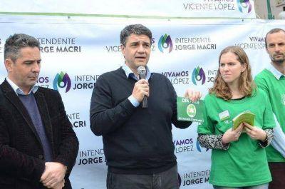 El intendente Jorge Macri anunció el