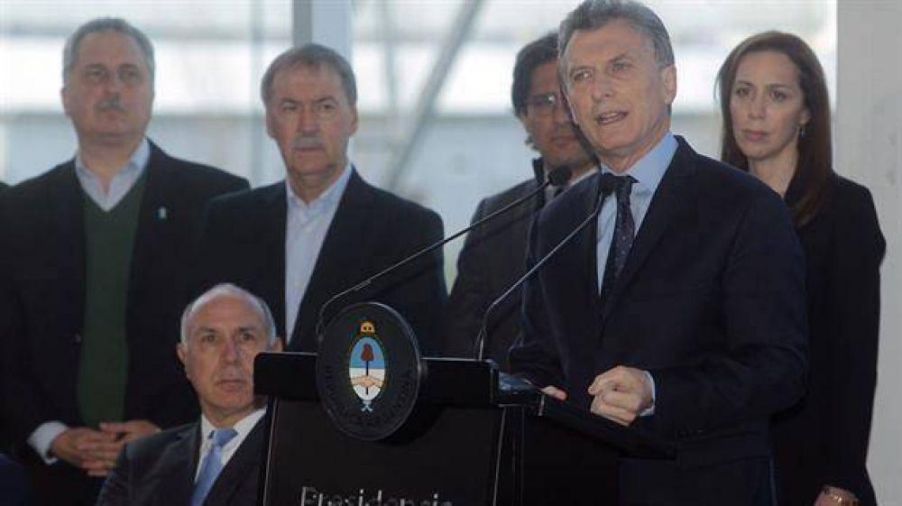 Macri presentó el plan contra el narcotráfico y destacó la contribución de la Iglesia