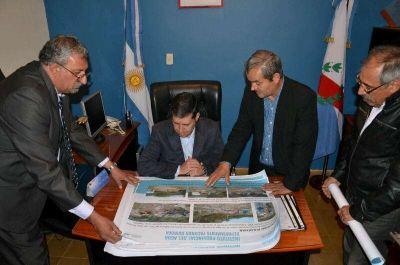 Casas concret� intensa gira de trabajo en Juan Facundo Quiroga