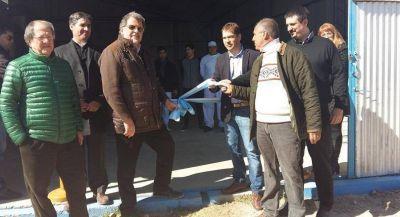 Mechongu�: Se inaugur� el Molino Harinero