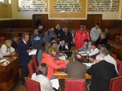 Se llevó a cabo una reunión para analizar la demanda de trabajo por parte de organizaciones barriales