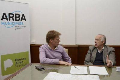 Passaglia se reuni� con Fossati: ARBA trabaja junto al municipio para fortalecer recursos p�blicos
