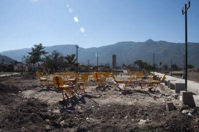 El parque de la zona sudeste no se terminará durante este año
