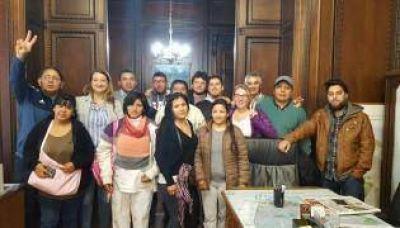 Muiños celebró con organizaciones de la Villa 20 la urbanización