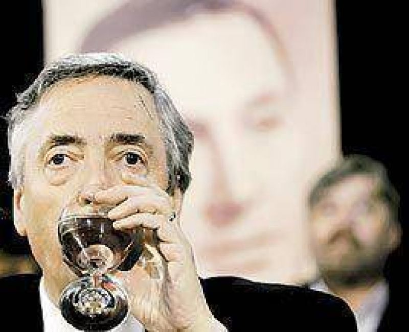 Ninguna retirada: en Olivos ya sue�an con el proyecto Kirchner 2011