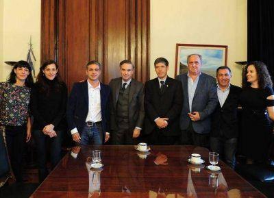 Concejales y dirigentes del peronismo platense se reunieron con Miguel Pichetto