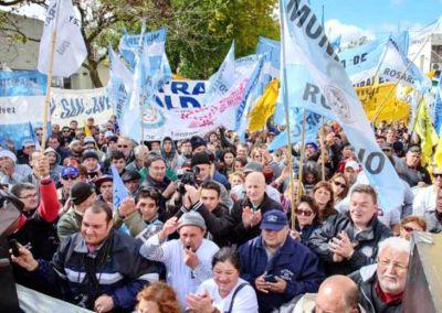 Municipales reclaman reapertura de paritaria