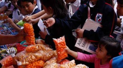 Realizarán campaña sobre los riesgos del sobrepeso en escuelas