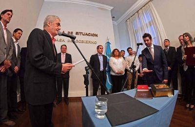 Das Neves le tomó juramento a tres nuevos subsecretarios