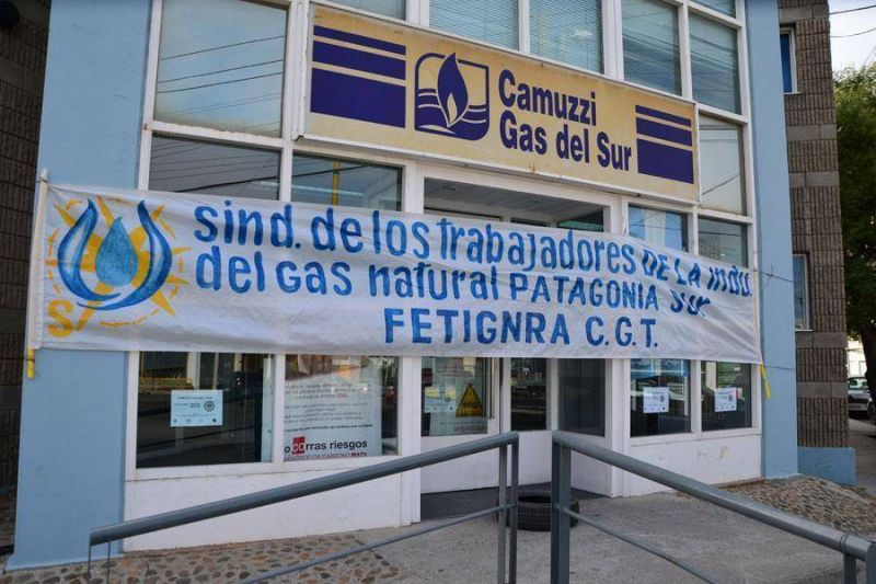 Trabajadores de Camuzzi van al paro por 48 horasLos trabajadores de Camuzzi