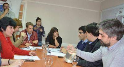 Los Concejales analizaron con el Ejecutivo municipal la deuda reclamada al Gobierno