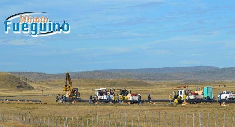 El titular de la UOCRA fueguina se refirió a la paralización de la obra del gasoducto