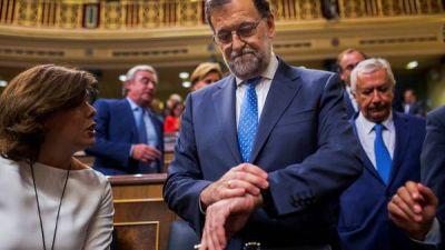Rajoy pidi� el apoyo de todos los partidos para salir de la par�lisis pol�tica