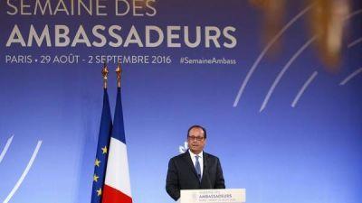 Presión de Hollande a Londres sobre el Brexit