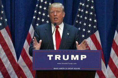 Tras reiterar su idea de construir un muro en la frontera, Donald Trump viaja a México