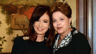 Cristina Kirchner, sobre la destituci�n de Dilma Rousseff: