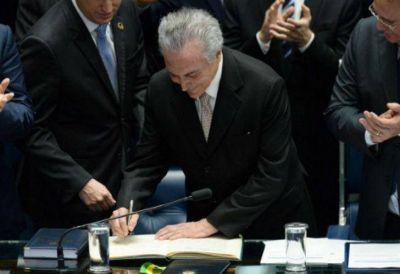 Brasil: Temer asumió como Presidente en plena crisis económica