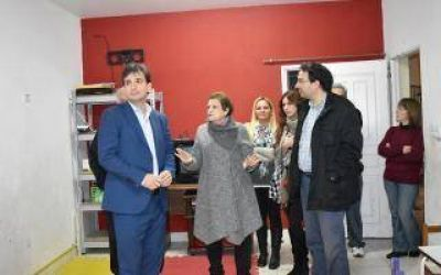 Galmarini visit� la Fundaci�n COR que lucha en contra del HIV-SIDA