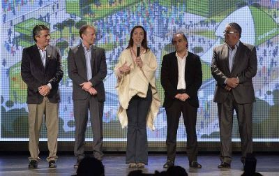 Mar�a Eugenia Vidal present� la segunda etapa de