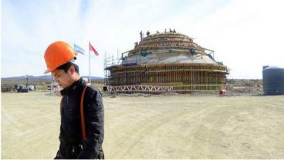 Firman un acuerdo para que la base espacial china de Neuqu�n tenga s�lo uso civil
