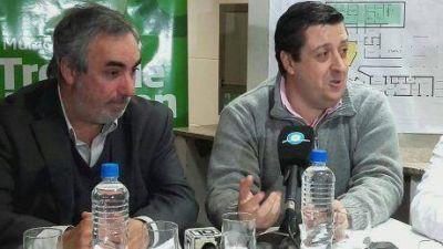 Los intendentes de Trenque Lauquen y Guaminí firmaron importante convenio para Garré