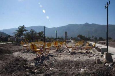 El parque de la zona sudeste deberá esperar al menos hasta el 2017