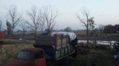 General Belgrano: hallan toneladas de residuos patogénicos del Hospital enterrados en un campo