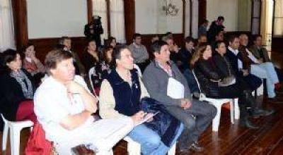 Sesionó en Chivilcoy la Comisión de Producción y Comercio Interior de la Cámara de Diputados