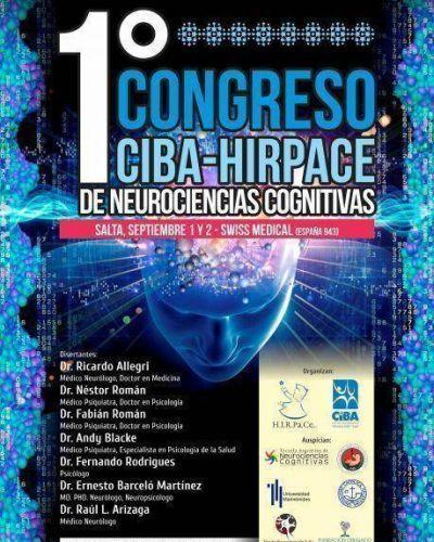 Se realizará en Salta el primer congreso internacional de Neurociencia Cognitiva