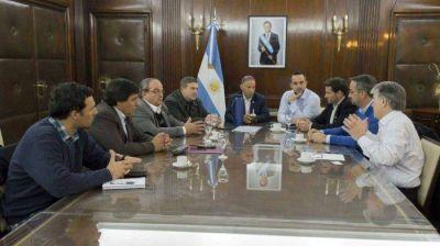 Reunión con el Ministro de Medio Ambiente, Rabino Sergio Bergman