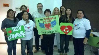 Se conformó la Asociación AMIGOS DE LA VIDA para trabajar por la Donación de Órganos