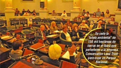 Por unanimidad, Senado convirti� en ley cesi�n ambiental del Iber�