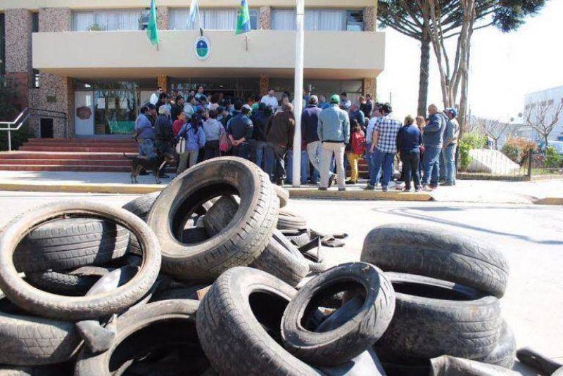 Se dictó la conciliación obligatoria entre el municipio y los gremios