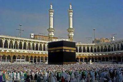 Cerca de un millón de musulmanes llegan a Arabia Saudita para la peregrinación
