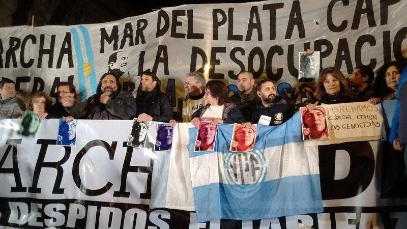 Fuerte presencia local en la Marcha Federal