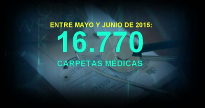 Casi 17 mil pedidos de carpeta médica en la Administración Pública