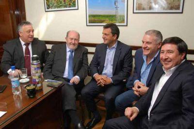 Verna se reunió con Massa por el Presupuesto Nacional