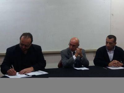 Ciencias de la Salud firmó convenio con secretaría de Deporte