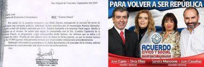 Cano recusa a los jueces Bejas y Poviña en la investigación sobre desvíos de dinero de la UNT a la campaña radical