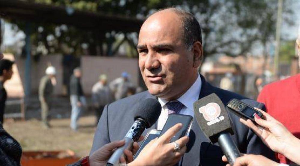 Manzur aseguró que el blanqueo de capitales traerá inversiones a Tucumán