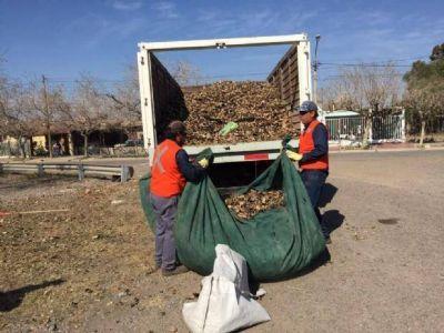 S�lo en un mes sacaron 20 toneladas de basura de la Circunvalaci�n