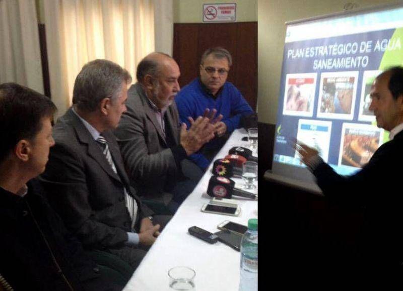 SOSBA presentó el Plan de Agua y Cloacas a intendentes del sur bonaerense