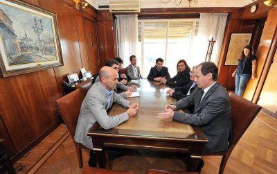 Bordet gestionó obras de infraestructura vial en el ministerio de Transporte de la Nación