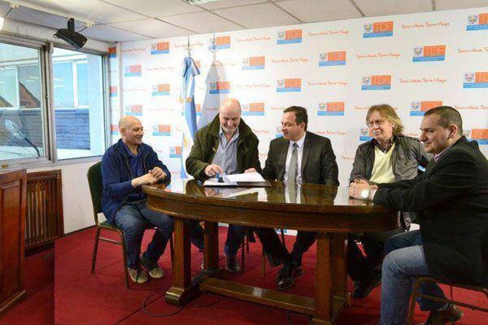 """Municipio y Provincia acordaron obras para el """"Cochocho"""" Vargas"""