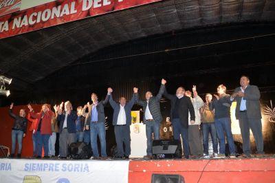 El PJ dio una señal de unidad en el festejo por los 9 años de gobierno en Lamarque